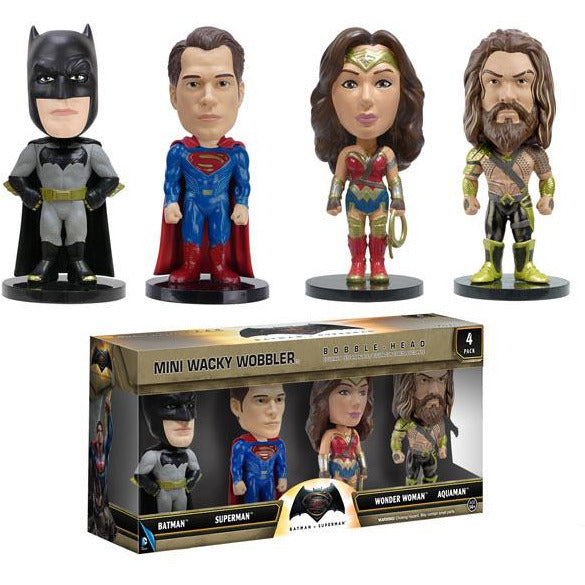 Wacky Wobbler: Batman v Superman - 4 Pack Minis - Fandom