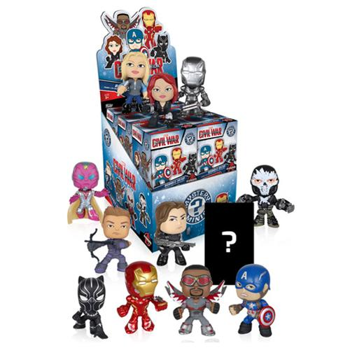 Mystery Mini Blind Box: Marvel: Captain America CW: PDQ (CDU - Fandom