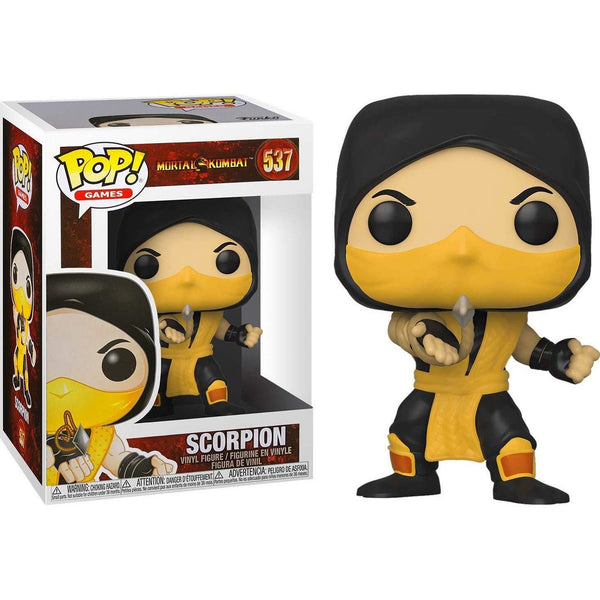 POP Games: Mortal Kombat - Scorpion - Fandom