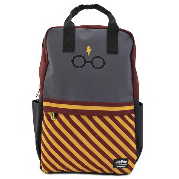 Harry Potter Glasses Square Nylon Backpack