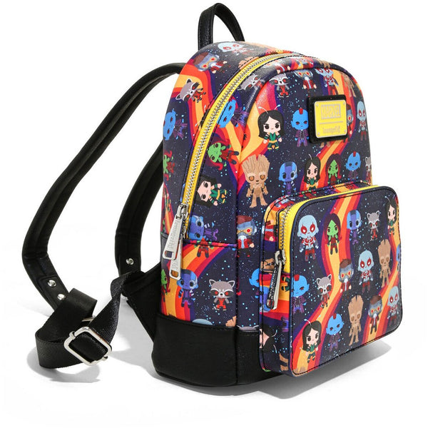 Loungefly Marvel Guardians Of The Galaxy Chibi AOP Mini Backpack - Fandom
