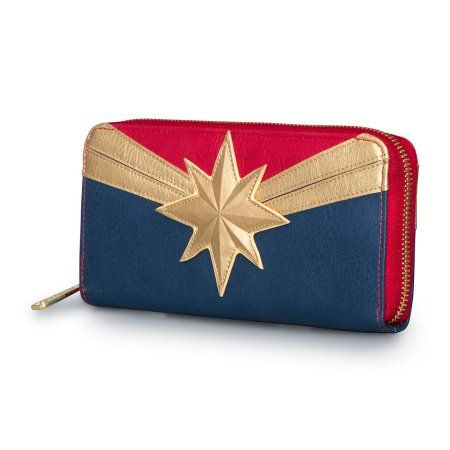 LF: Marvel: Captain Marvel Zip Around Wallet - Fandom