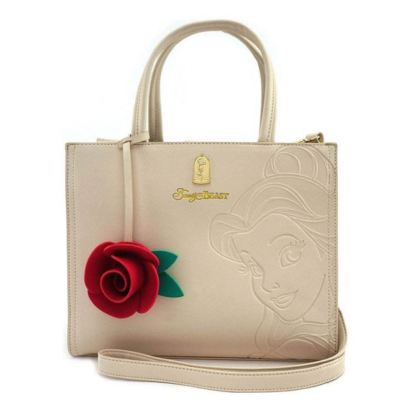 LF: Disney: Belle Embossed Charm Bag - Fandom