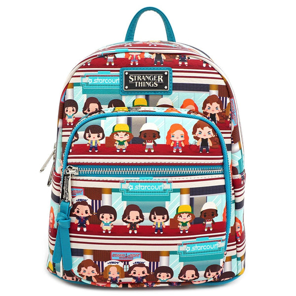Loungefly Netflix Stranger Things Starcourt Chibi Mini Backpack - Fandom