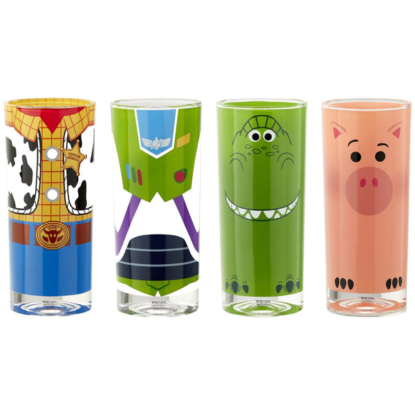 Toy Story - Tumbler Set - Buzz, Woody, Rex & Hamm - Fandom