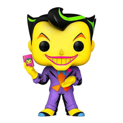 POP Heroes: DC- Joker (Black Light) (Exc)