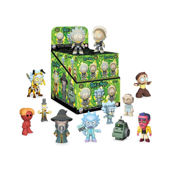 Mystery Minis: Rick & Morty - 12PC PDQ - Fandom