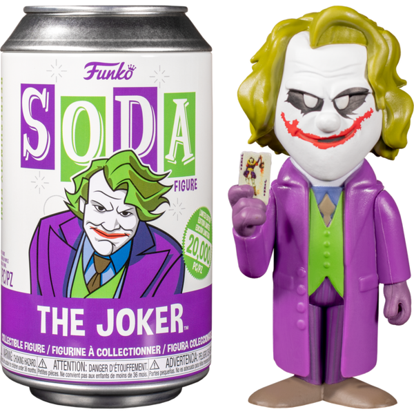 Vinyl SODA:DCComic-HeathLedgerJokerWChase