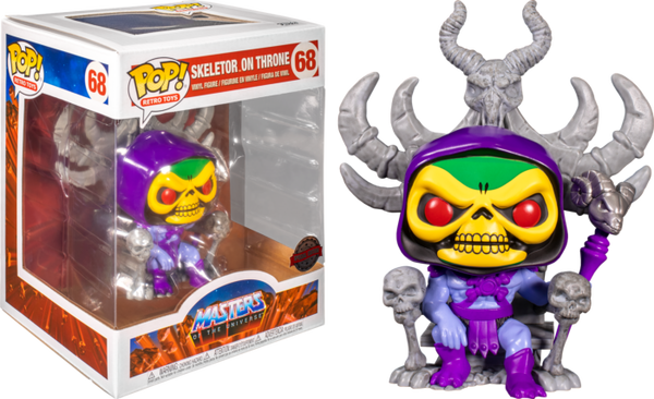 POP Animation - MOTU: Skeletor on Throne (Exc) 6 inch
