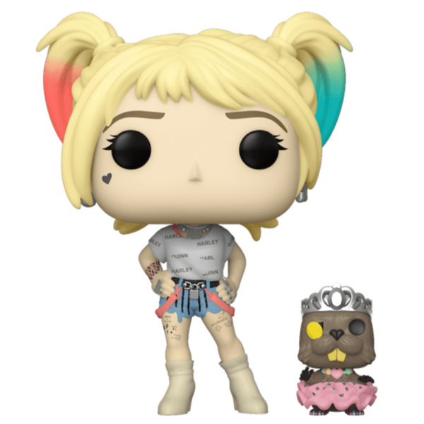 POP Heroes: Birds of Prey - Harley Quinn w/ Beaver