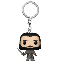 POP Keychain: GOT S8 - Jon Snow (Beyond the Wall)