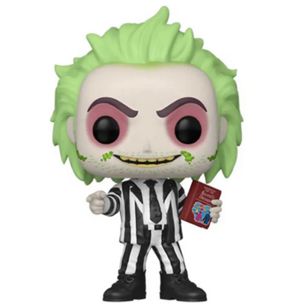POP Movies: Beetlejuice w/HandBook of Recently Deceased (NYCC Exc) (GW)