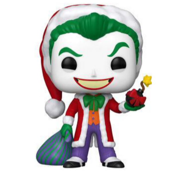 POP Heroes: DC Holiday- Santa Joker