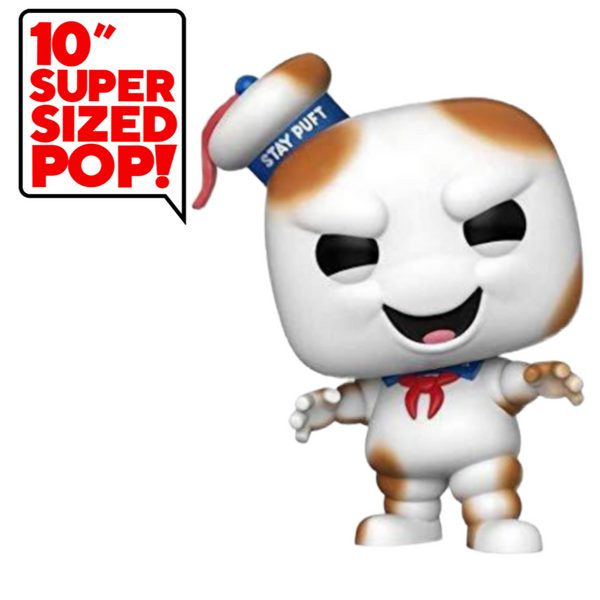 POP Movies - Ghost Busters: Burnt Stay Puft (Exc) 10 inch