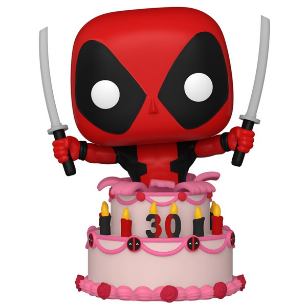 POP Marvel: Deadpool 30th- Deadpool in Cake