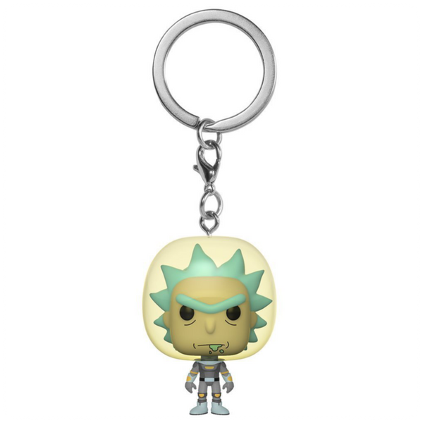 POP Keychain: Rick & Morty - Space Suit Rick