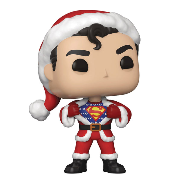 POP Heroes:DC Holiday-Superman w/Sweater