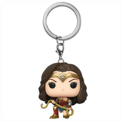 Pop! Keychain: WW 1984 - Wonder Woman w/ Lasso