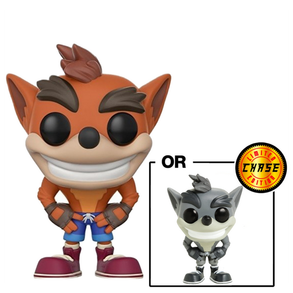 Pop Games: Crash Bandicoot: Crash Bandicoot w/ chase