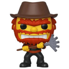 Pop Animation: The Simpsons - Evil Groundskeeper Willie (NYCC Exc)