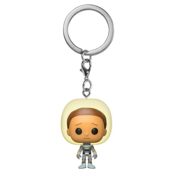 POP Keychain: Rick & Morty - Space Suit Morty