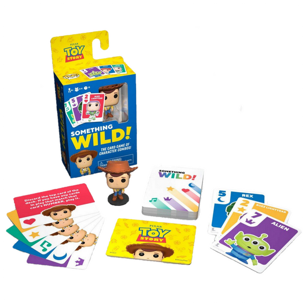 Signature Games: Something Wild Card Game- Toy Story