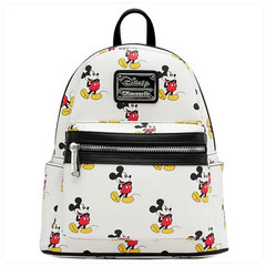 LF: Disney: Mickey AOP Mini Backpack
