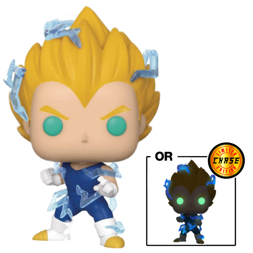 POP Animation: DBZ S6 - SS2 Vegeta w/ Chase (GW) (Exc)