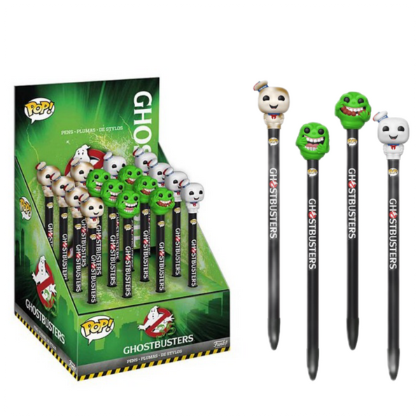 Pen Toppers: Ghostbusters: Assorted 16pc (CDU 16)