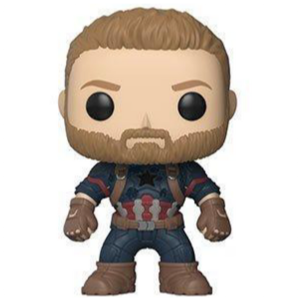 Pop! Marvel:Avengers Infinity War -Captain America