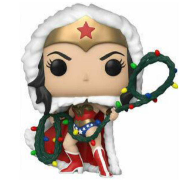 POP Heroes: DC Holiday- WW w/Lights Lasso
