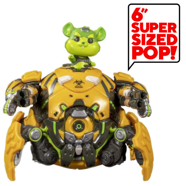 "POP Games: Overwatch - 6"" Txc Wrckng Ball (NYCC Exc)"