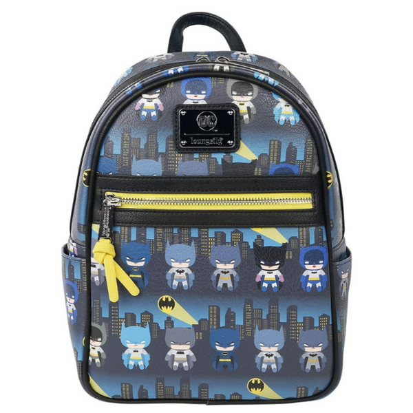 Loungefly Batman 80th Anniversary Chibi Mini Backpack