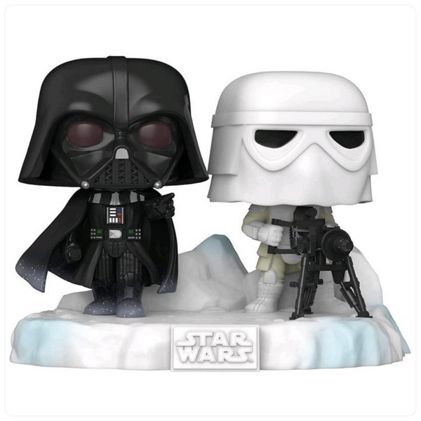 POP Deluxe: Star Wars- Darth Vader & Snowtrooper (Exc)