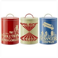 Stranger Things: Kitchen Storage Tins: Silhouette