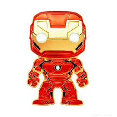 LF Funko Pop Iron Man Large Enamel Pin