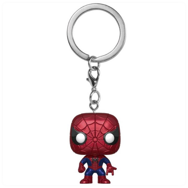 POP Keychain: Marvel- Spider-Man(MT)