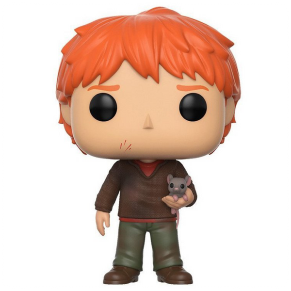 POP Harry Potter: HP - Ron Weasley w/ Scabbers