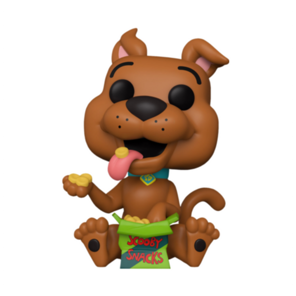 POP Animation: Scooby Doo- Scooby w/Snacks (Exc)