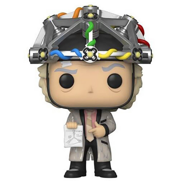 POP Movie: BTTF- Doc w/helmet