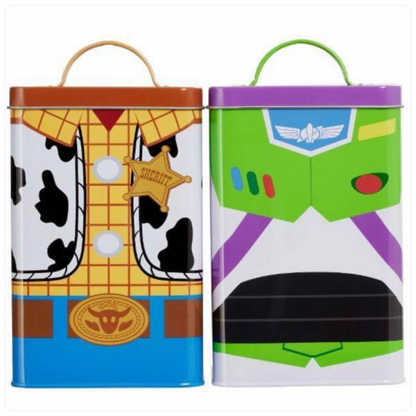 Toy Story - Kitchen Storage Tins - Buzz & Woody