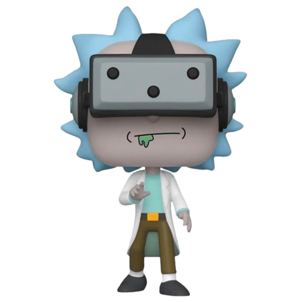 POP Animation: Rick & Morty- Gamer Rick (EXC)