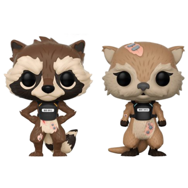 Pop  Marvel Games: GOTG TT: Rocket & Lyla 2PK