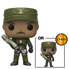 POP Halo: S1- Sgt. Johnson w/ Chase (Cigar)