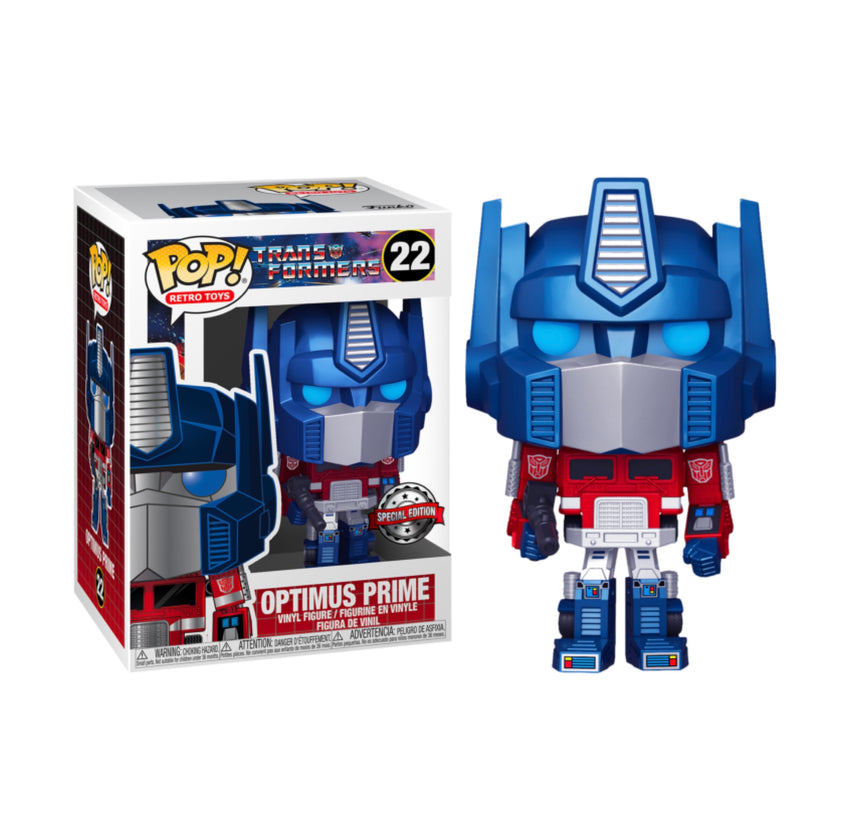 POP Vinyl: Transformers- Optimus Prime(MT) (Exc)