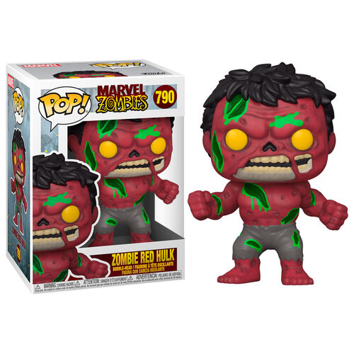 POP Marvel: Marvel Zombies- Red Hulk