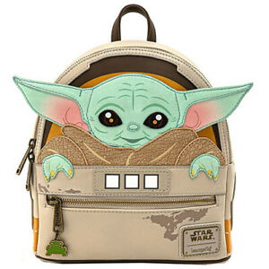 LF STAR WARS MANDALORIAN CHILD CRADDLE MINI BACKPACK