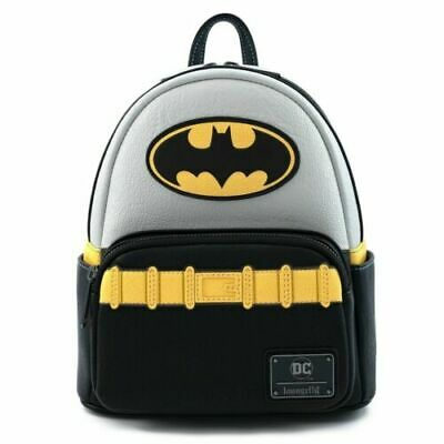Loungefly DC Comics vintage Batman cosplay mini backpack