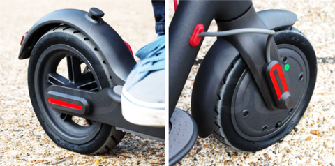 e-scooter tire replace