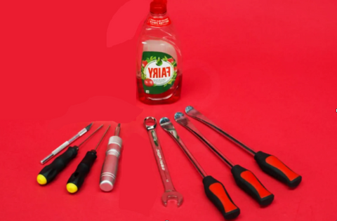 tools to replace tire scooter